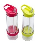Sport Water Bottle with Citrus Infuser – Set of... - $49.49