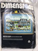 Opened Dimensions Charles Wysocki Nantucket Breeze Needlepoint Kit #2359 - $46.74