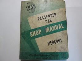 1958 Ford Mercury Passenger Car Service Shop Repair Manual Book CANADA OEM - $23.72