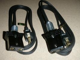 2 x Power Cord for Universal Waffle Maker Iron Model E9300 (3/4 2pin)6ft)  - €32,29 EUR