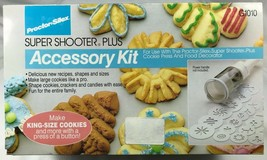 Accessory Kit for Proctor Silex Super Shooter Plus King Size Cookies G10... - €19,51 EUR