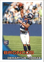 2010 Topps #275 Demaryius Thomas RC Rookie Card > Denver Broncos >... - $1.10