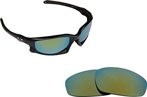 New SEEK Replacement Lenses Oakley WIND JACKET - Polarized Green