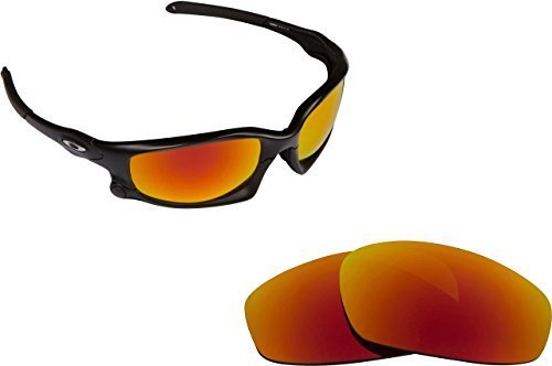 Primary image for New SEEK OPTICS Replacement Lenses Oakley WIND JACKET - Polarized Red