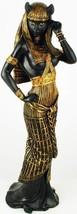 BAST FEMININE DIVINE STATUE - BASTET EGYPTIAN GODDESS MYTHOLOGY CAT  - $45.99