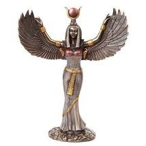 ISIS STATUE   Egyptian Goddess WOMEN MOTHERS CHILDREN MAGIC MEDICINE SAI... - $76.99