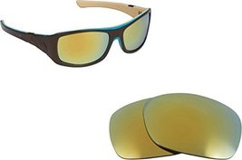 New Seek Optics Replacement Lenses Oakley Sideways   Green - $10.37