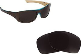 New Seek Optics Replacement Lenses Oakley Sideways   Black - $10.37