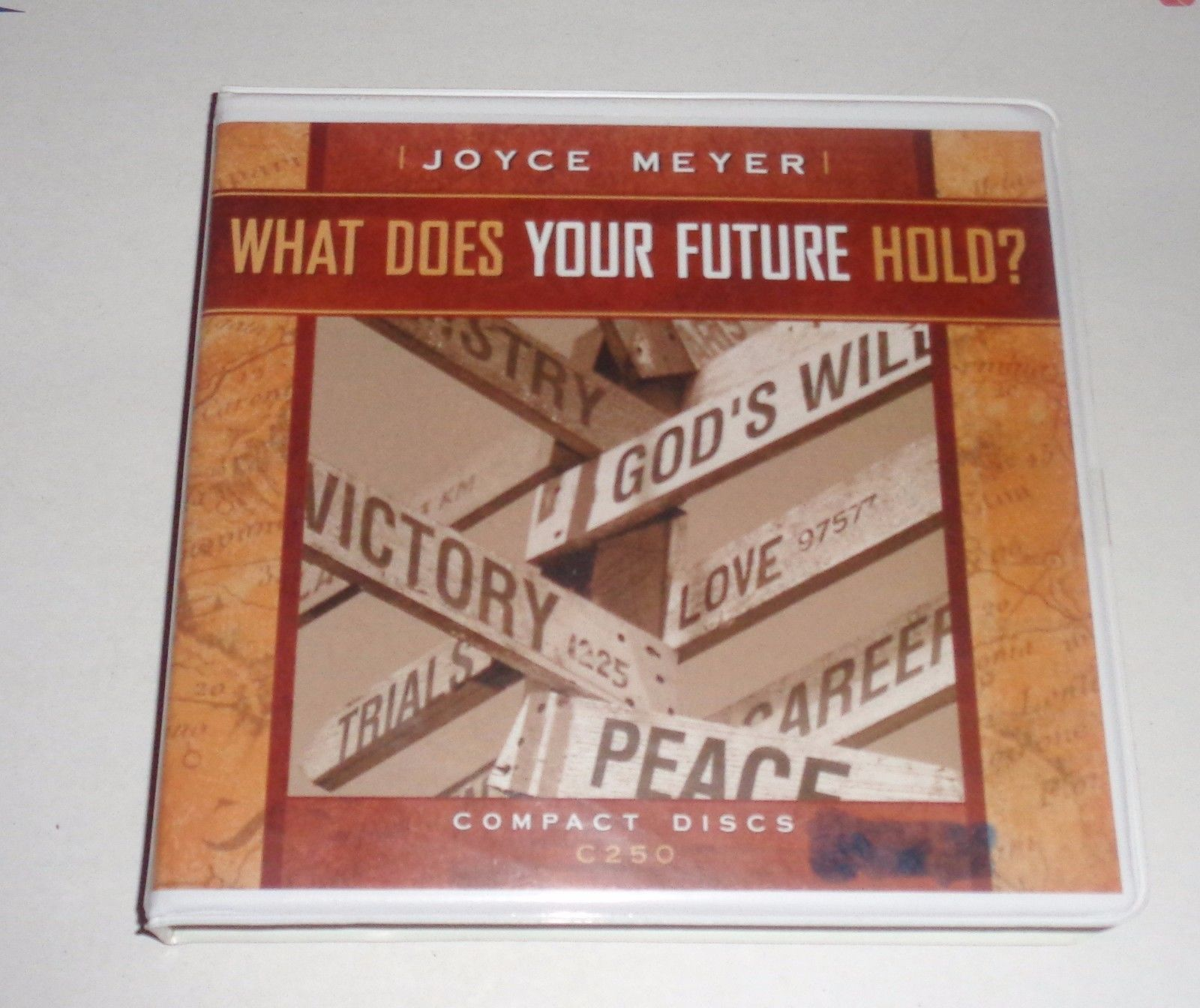 Joyce Meyer Ministries What Does The Future Hold 4 CD Audiobook Christian Study