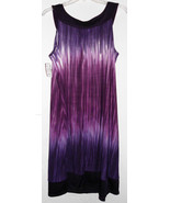 2X MXM Purple Tie Dye Look Dress Plus Size NWT  - $28.50