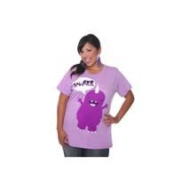 1X 12 14 Torrid Violet Monster Tee T-Shirt Sz 1 XL - $20.69