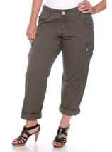 Size 18 Torrid Denim Cargo Pants NWOT Broken Zipper - $13.72