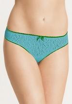 XL Parisa Fe Rio Hipster Panties ~ NWT ~ Kiwi PBT001 Turquoise & Green - $13.36