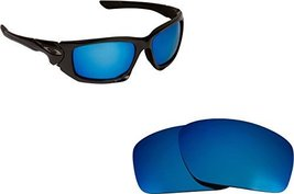 New Seek Optics Replacement Lenses Oakley Scalpel   Blue - $14.33