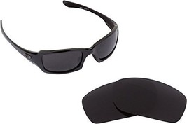 New Seek Optics Replacement Lenses Oakley Fives Squared   Polarized Black - $18.77