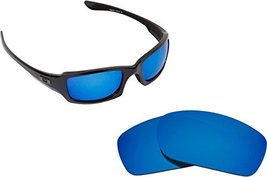 New Seek Replacement Lenses Oakley Fives Squared   Polarized Blue - $18.77