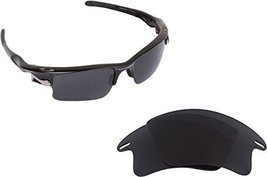 New SEEK OPTICS Replacement Lenses Oakley FAST JACKET XL - Polarized Grey - $18.78