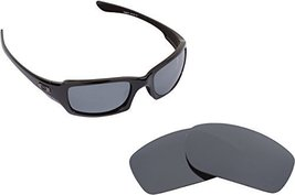 New Seek Replacement Lenses Oakley Fives Squared   Polarized Silver - $18.77