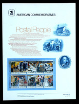 US Stamps Sc# 1489-1498  8c Postal People Strip USPS Commemorative Stamp... - $10.99