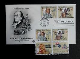 U.S. STAMP Sc# 2799-82 MNH 1993 Postal Museum Block of 4 + Postal Societ... - $3.99