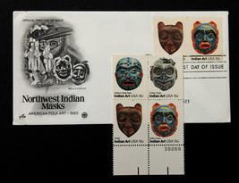 U.S. STAMP Sc# 1834-37MNH Block 1980 -American Folk Art Series + Artcraf... - $3.95