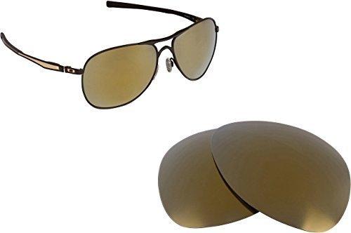 New SEEK OPTICS Replacement Lenses Oakley PLAINTIFF - Gold - $14.33