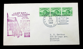 US STAMP Sc# 728 on Cover Last Day of Expo Cancel and Hand Stamped Cache... - $19.98