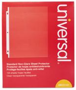 NEW Universal UNV21121 Standard Non-Glare Sheet Protectors - $14.15