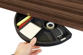 Qline Underdesk Tray Pencil Organizer Rotating Pencil Small Item - $29.68