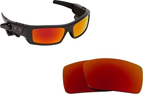 Primary image for New SEEK OPTICS Replacement Lenses Oakley THUMP 2 - Polarized Red