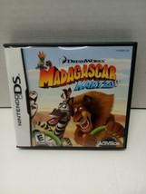 Madagascar Kartz (Nintendo DS, 2009) Complete - $10.00