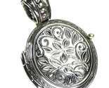 02003351 gerochristo 3351 medieval silver locket pendant 1 thumb155 crop
