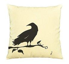 Bird Abstract-46-100% Cotton Decorative Throw Pillows Cover Cushion Case - $13.59
