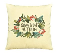 Beautiful Autumn-100% Cotton Decorative Throw Pillows Cover Cushion Case - $13.59