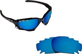 New Seek Optics Replacement Lenses Oakley Vented Jawbone   Blue - $14.33
