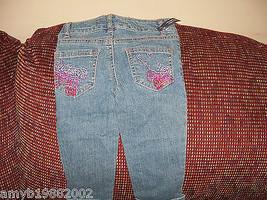 Faded Glory Embellished  Pants Size 4 Girls NEW LAST ONE  - $31.99