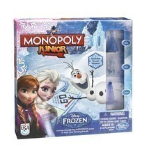 NEW!! Monopoly Junior Frozen Edition Board Game STYLE A- Hasbro FREE DEL... - $28.00