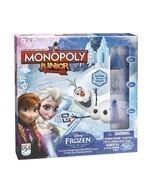 NEW!! Monopoly Junior Frozen Edition Board Game STYLE A- Hasbro FREE DEL... - $25.82
