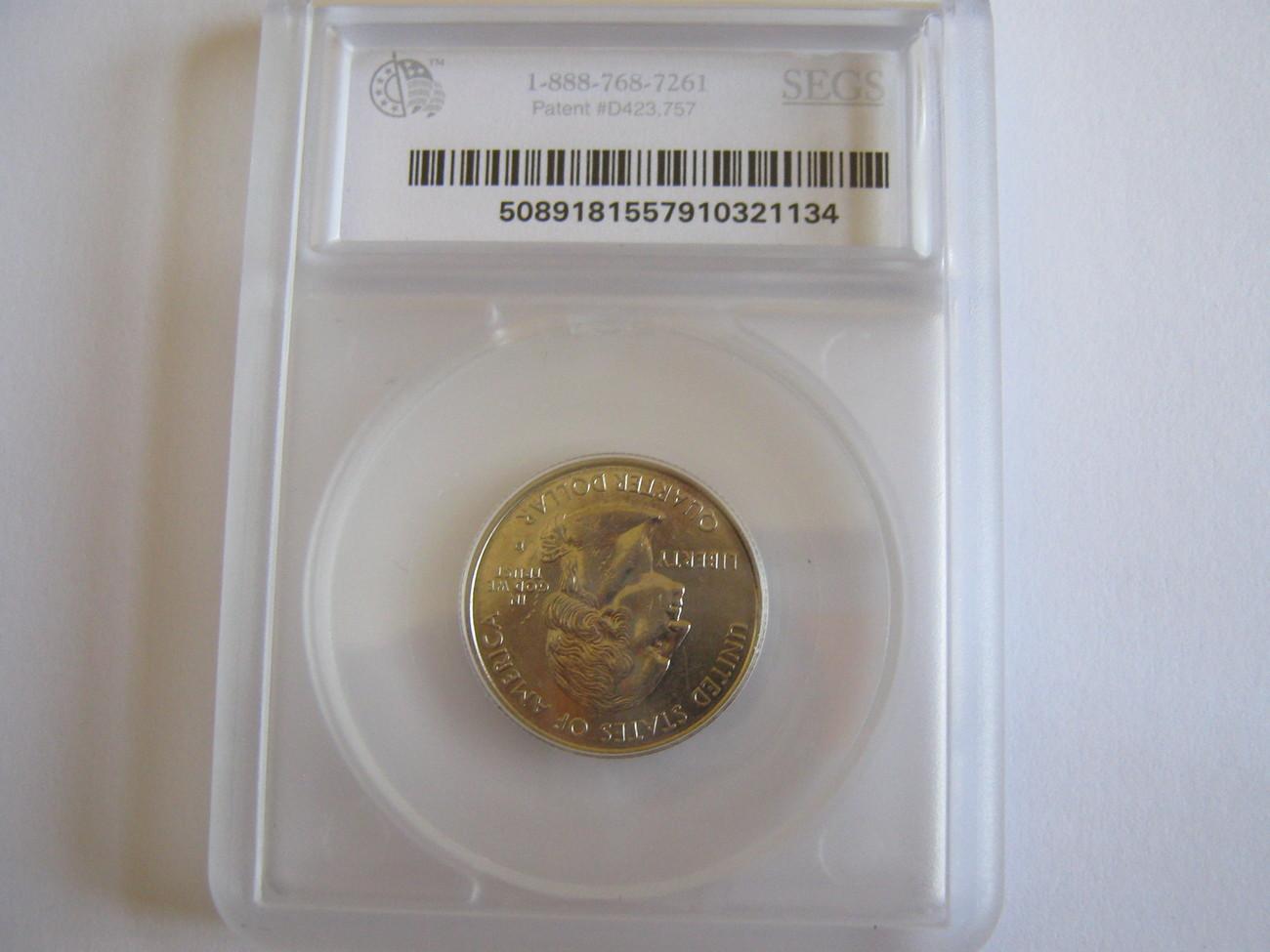 Connecticut State Quarter , 1999-D , Lot 2 , SEGS Certified