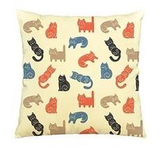 Cutie Cats-100% Cotton Decorative Throw Pillows Cover Cushion Case - $13.59