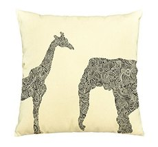 Animal Abstract-100% Cotton Decorative Throw Pillows Cover Cushion Case - $13.59