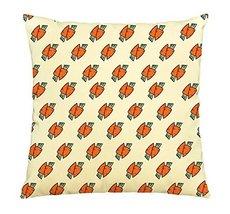 Carrot Couple-100% Cotton Decorative Throw Pillows Cover Cushion Case - $13.59