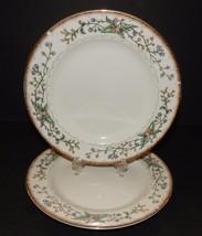 "2 Wellesley  Farberware #486  8"" Salad Plates Katherine Babanovsky 1996 ... - $19.79"