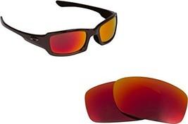 New SEEK OPTICS Replacement Lenses Oakley FIVES 3.0 - Red - $14.33