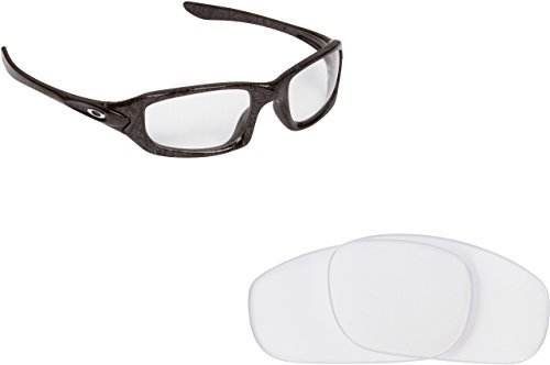 Primary image for New SEEK OPTICS Replacement Lenses Oakley FIVES 4.0 - Crystal Clear