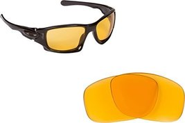 New SEEK OPTICS Replacement Lenses Oakley TEN - Hi Intensity Yellow - $11.85
