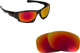 New Seek Optics Replacement Lenses Oakley Ten   Red - $14.33