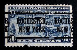 "US Stamp Sc# E12a Special Delivery Precancel ""ROCHESTER NEW YORK"" 1922 - $9.89"