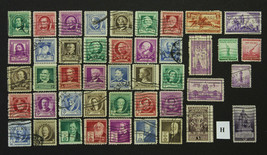 U.S. Stamp Collection Sc# 859-902 Complete Year 1940 Used - $7.99
