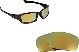 New Seek Optics Replacement Lenses Oakley Fives 3.0   Polarized Green - $17.79